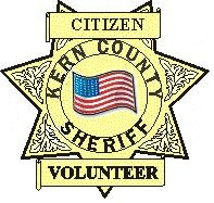 Citizen Kern County Sheriff Volunteer Logo