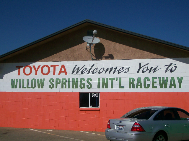 Willow Springs Int'l Raceway Picture